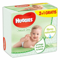 Toallitas Natural Care HUGGIES 168 toallitas