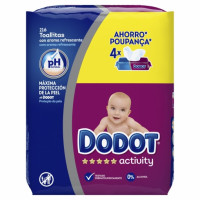 Toallitas recambio DODOT-ACTIVITY pack 4x54 ud.